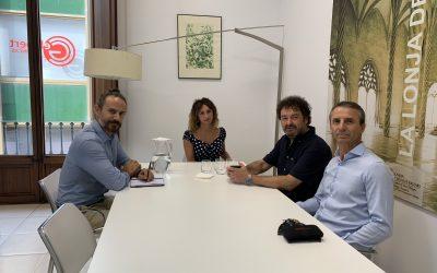 Primer encuentro de ABSI con el Govern Balear