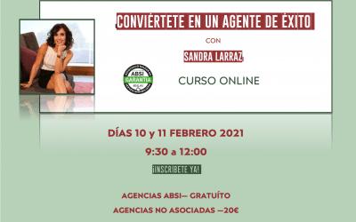 CONVIÉRTETE EN UN AGENTE DE ÉXITO con Sandra Larraz