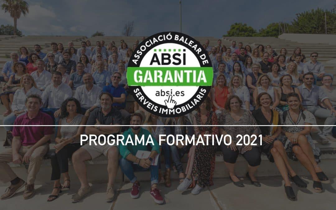 PROGRAMA FORMATIVO ABSI 2021 – FECHAS CONFIRMADAS-