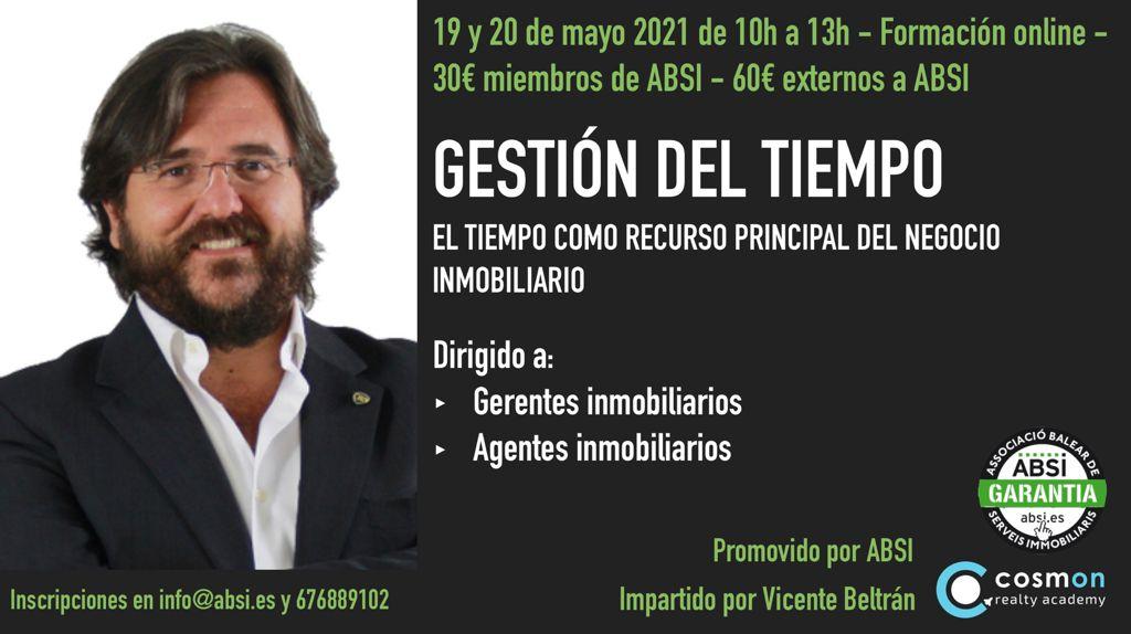 GESTIÓN DEL TIEMPO con Vicente Beltrán