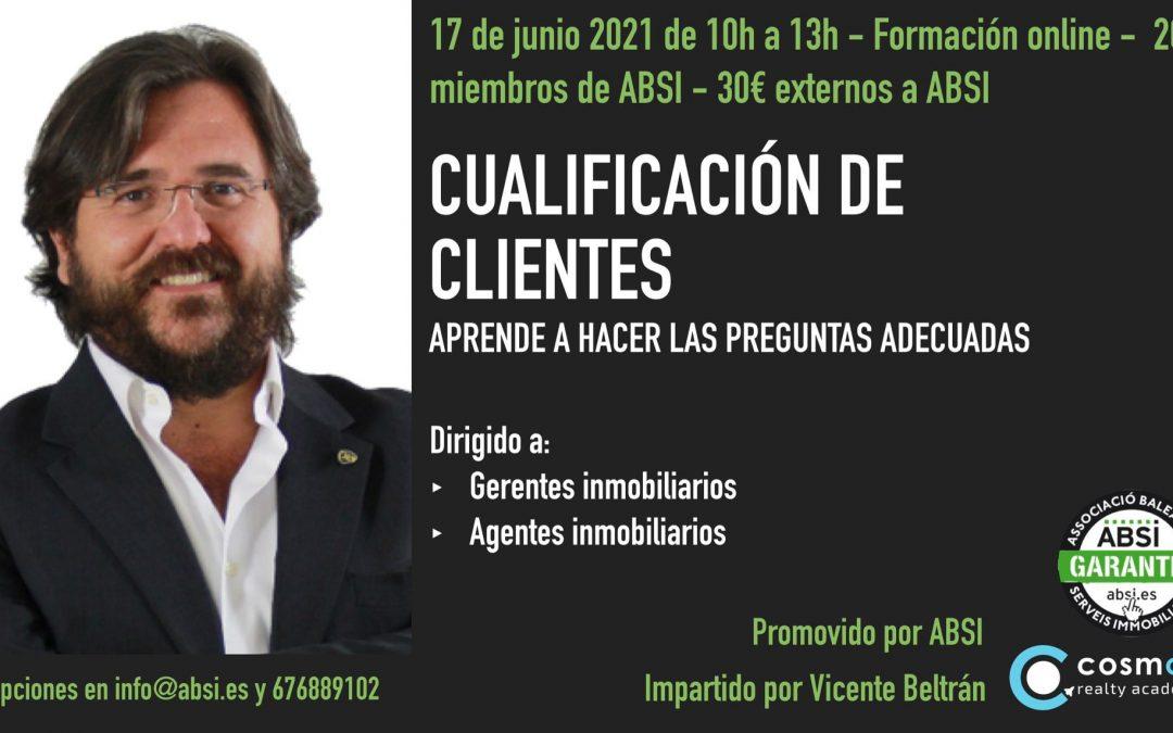 CURSO ONLINE CUALIFICACIÓN DE CLIENTES CON VICENTE BELTRÁN